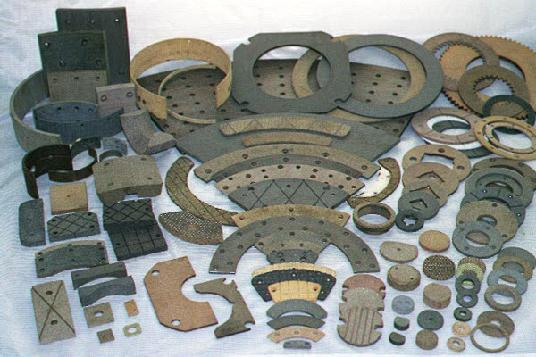 Materials Used In Clutch Linings : Brake shoe relining and clutch disc